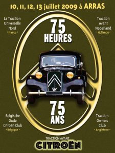 75 Jahre Traction Avant, Arras